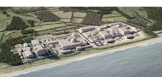 CGI of Sizewell C Site