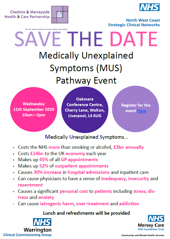 Medically Unexplained Symptoms Pathway event