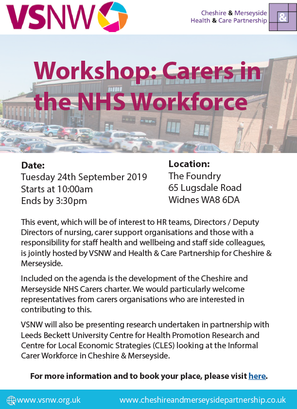 Carers in NHS Workforce