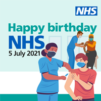 The NHS will mark its' 73rd 'birthday' image